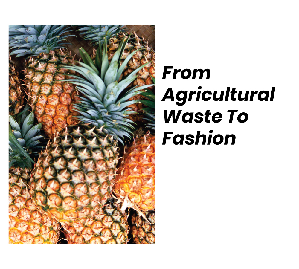 From Agricultural Waste To Fashion