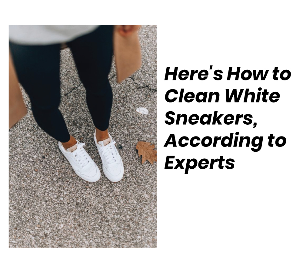 Here's How to Clean White Sneakers, According to Experts