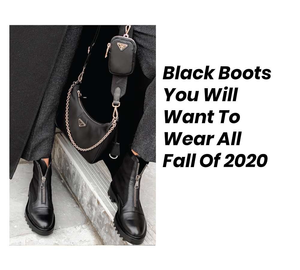 These are the black boots you will want to wear all fall of 2020