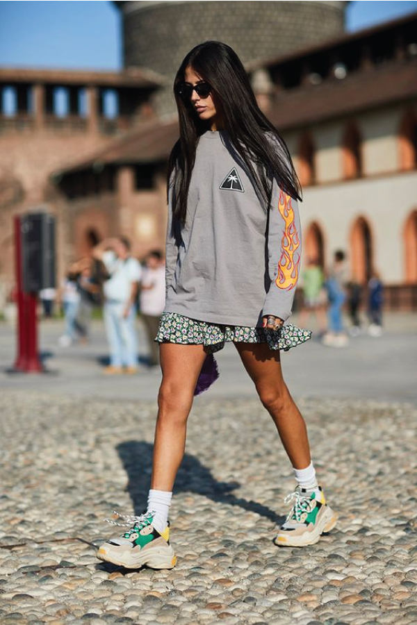 5 Sneaker Trends To Watch In 2020, the chunky sneaker.