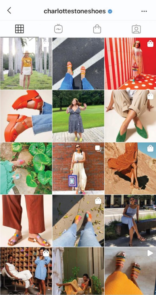 7 Shoe Brands On Instagram You Need To Start Following. Charlotte Stone, a colourful shoe brand, focused on comfort, modernism and versatility.