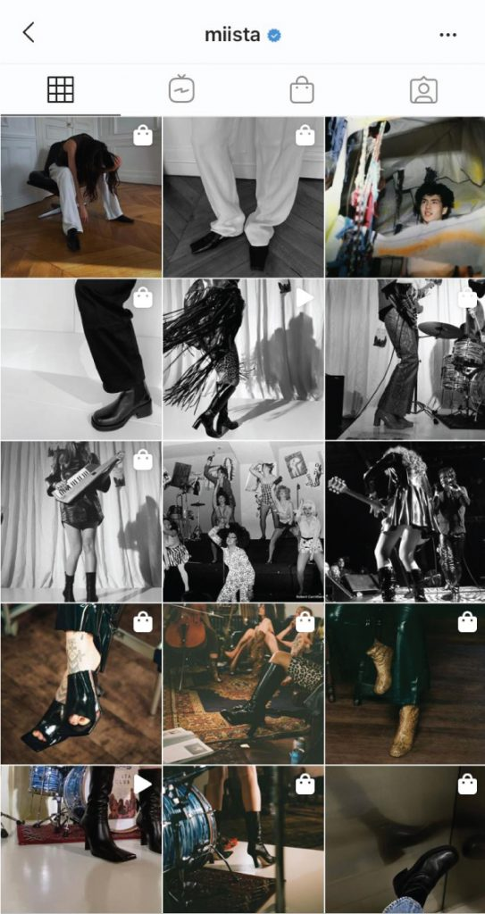 7 Shoe Brands On Instagram You Need To Start Following. Miista, a rocker shoe brand, where the highlight is the black leather boots.