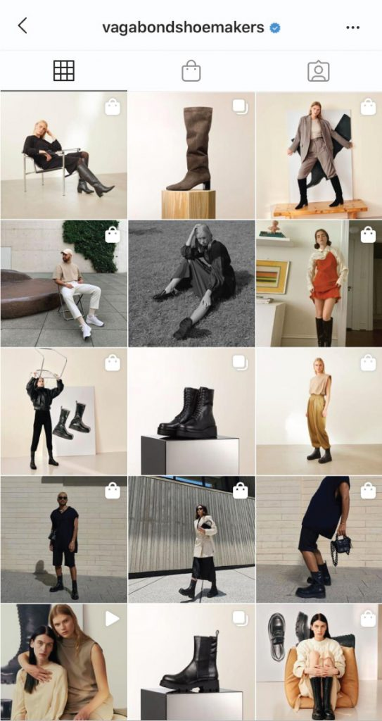 7 Shoe Brands On Instagram You Need To Start Following. Vagabond shoemakers, a shoe brand from Sweden, inspired by the people crossing the street of Vagabond