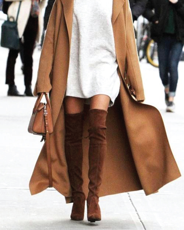 The Major Fall Shoe Trends To Buy Now, over the knee boots.