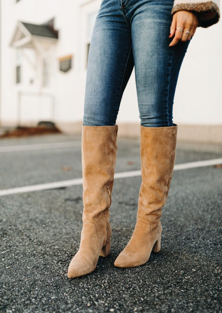 The Boots That Will Fit Perfectly With Your Autumn Jeans. Sam Edelman Hai Knee High Boot