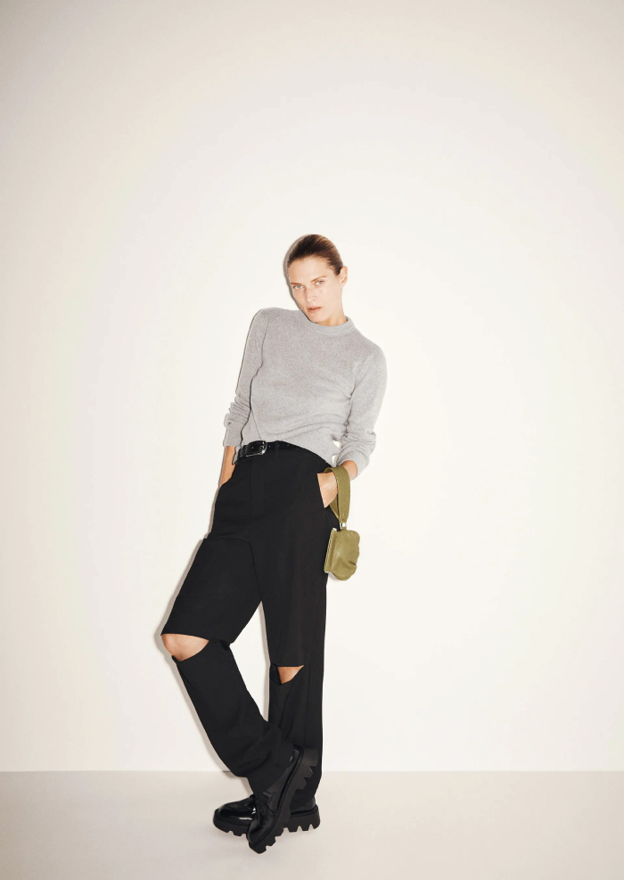 12 Hand Bags That Look Great In The Winter. Limited Edition Small Leather Purse from Zara