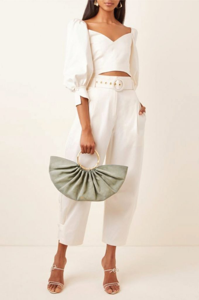 12 Hand Bags That Look Great In The Winter. Banu Top Handle Bag from Cult Gaia
