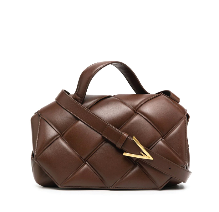 12 Hand Bags That Look Great In The Winter. Top Handle Bag from Bottega Veneta