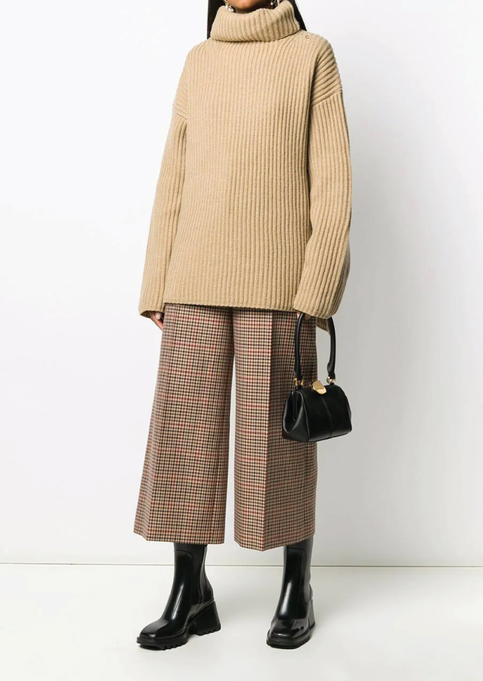 12 Hand Bags That Look Great In The Winter. Logo Top Handle Bag from Marni