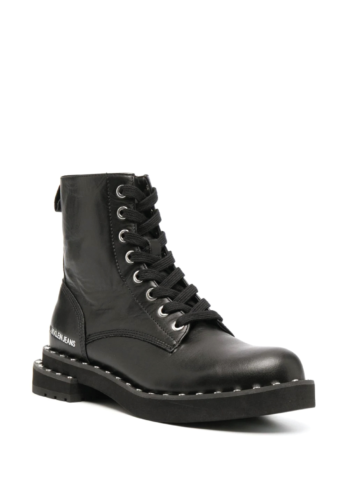 Combat Boots: These Are The Ones We Recommend. Studded combat boots from Calvin Klein Jeans