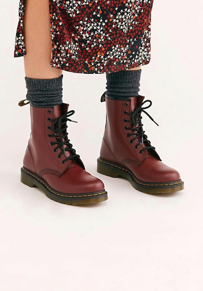 Combat Boots: These Are The Ones We Recommend. 1460 ankle boots from Dr. Martens.