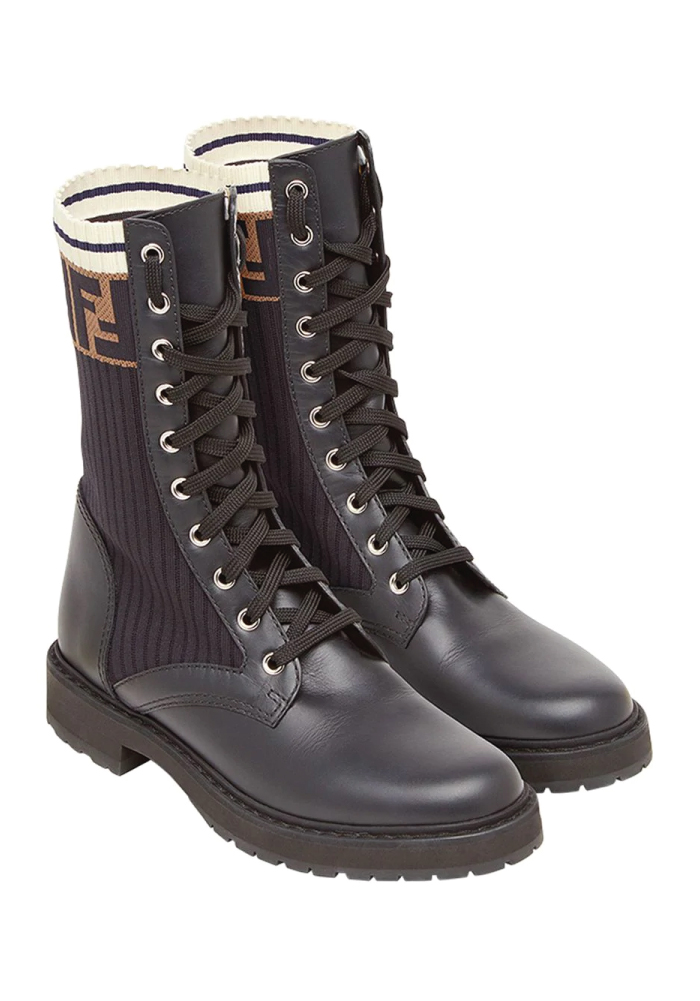 Combat Boots: These Are The Ones We Recommend. Rockoko combat boots from Fendi.