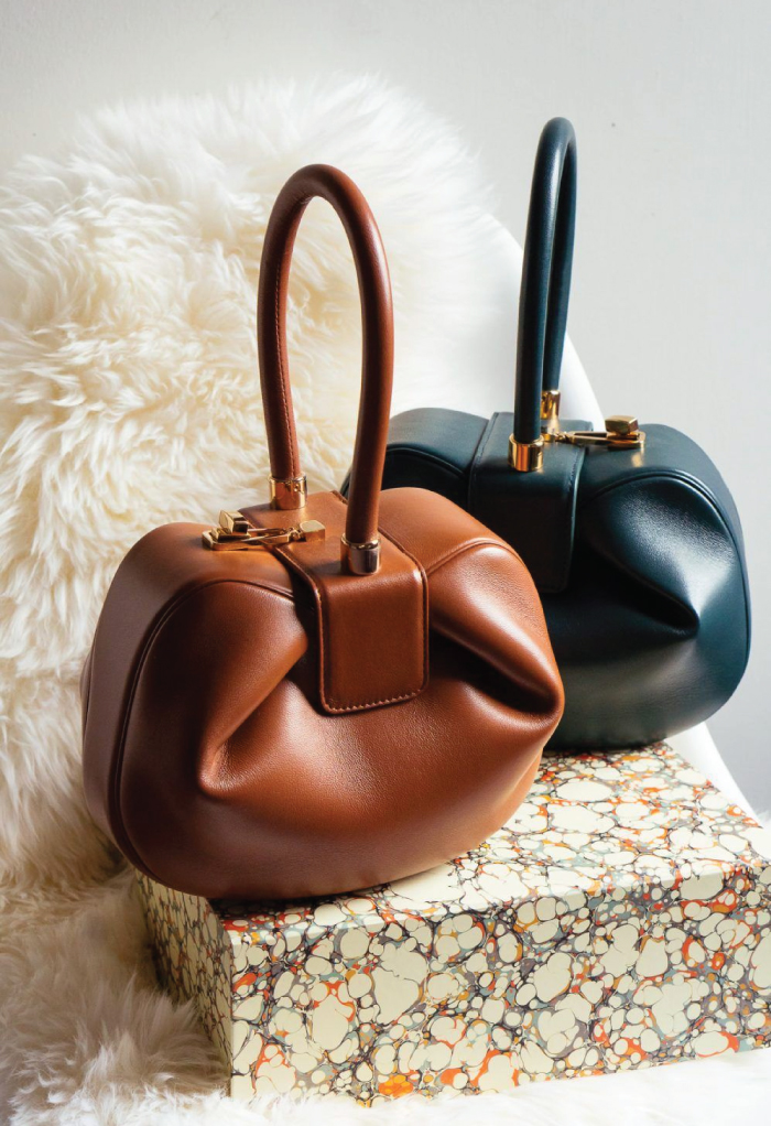 Our Top Favourite Sustainable Brands. Gabriela Hearst Demi Bag.