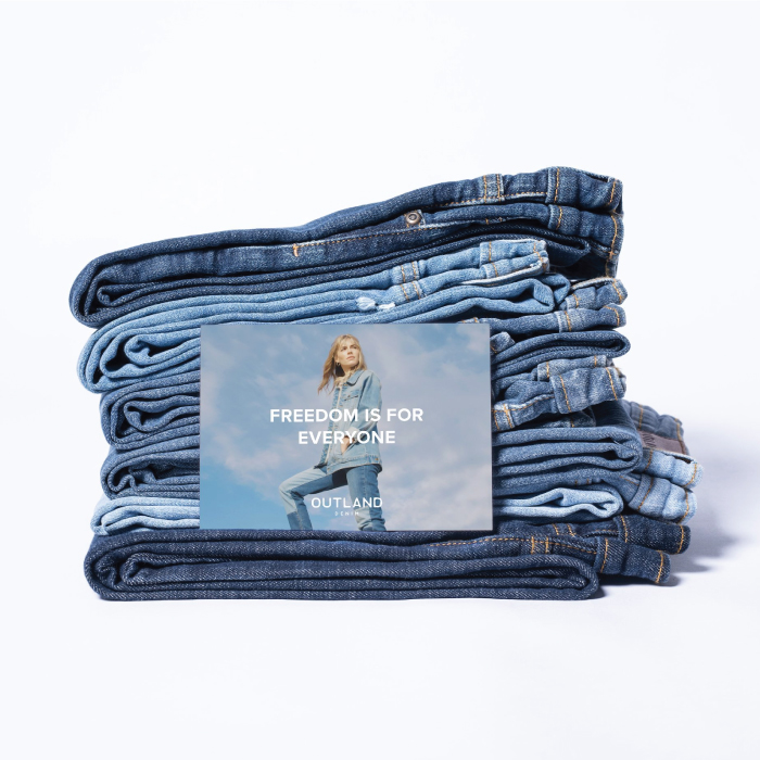 Our Top Favourite Sustainable Brands. Outland Denim, Freedom is for everyone.