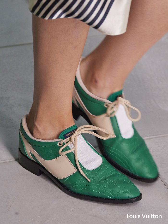 Spring Shoe Trends 2021. Classic Oxfords, Louis Vuitton Spring Summer 2021.