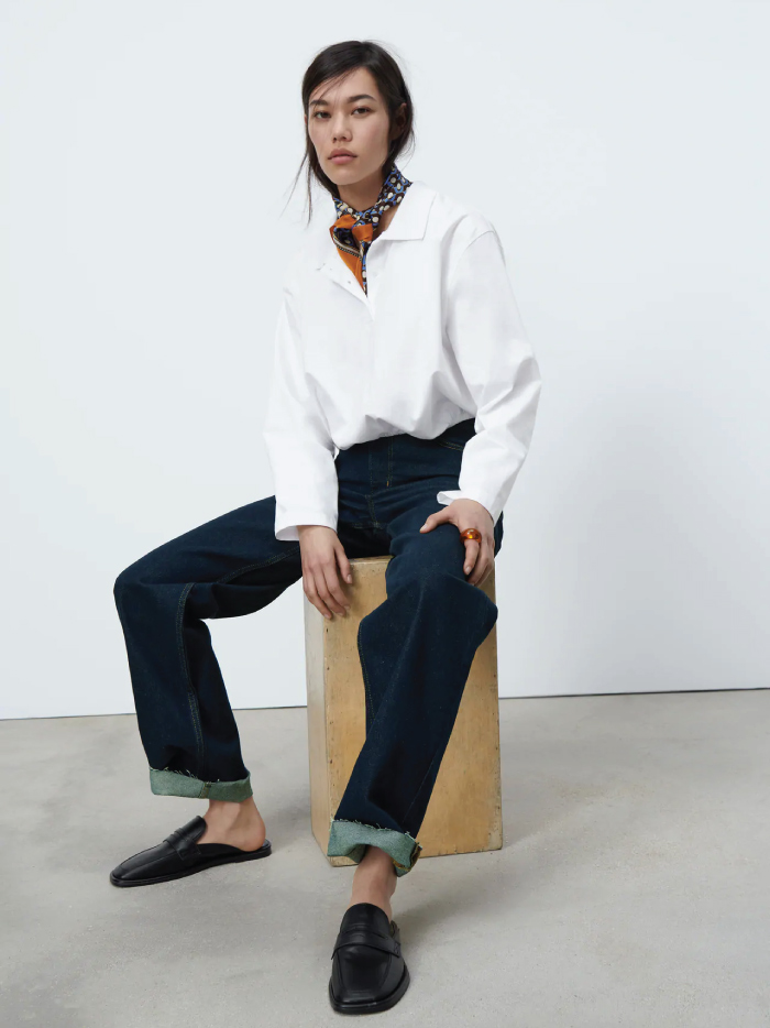 Why Zara Has The Best Shoe Collection For Spring: Mule Loafers from Zara.