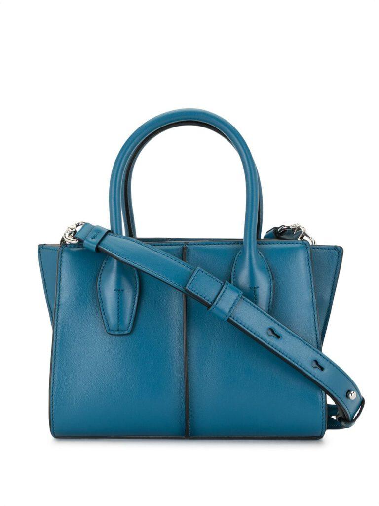 MINI BLUE TOTE BAG  from FARFETCH