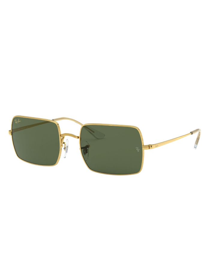 The Accessory That Will Make Everything Look Cooler In The Summer: sunglasses from Ray-Ban, Rectangle 1969 Legend Gold.