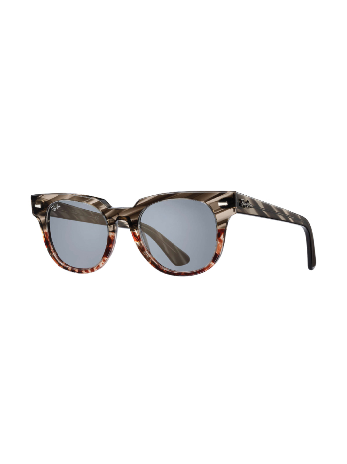 The Accessory That Will Make Everything Look Cooler In The Summer: sunglasses from Ray-Ban, Meteor Striped Havana.