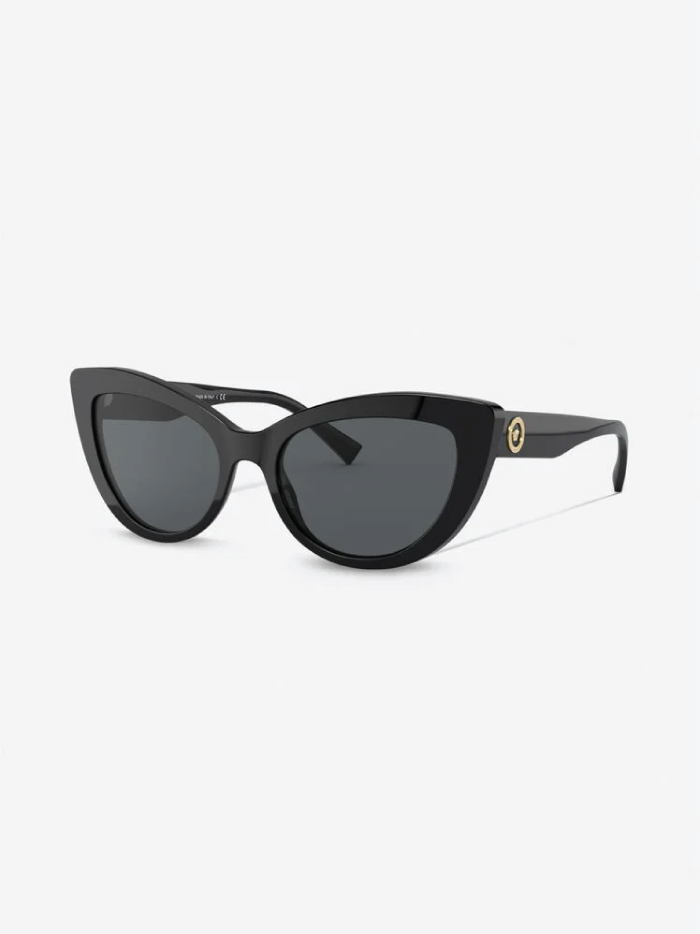 The Accessory That Will Make Everything Look Cooler In The Summer: sunglasses from Versace, Medusa Icon Cat-Eye Sunglasses.