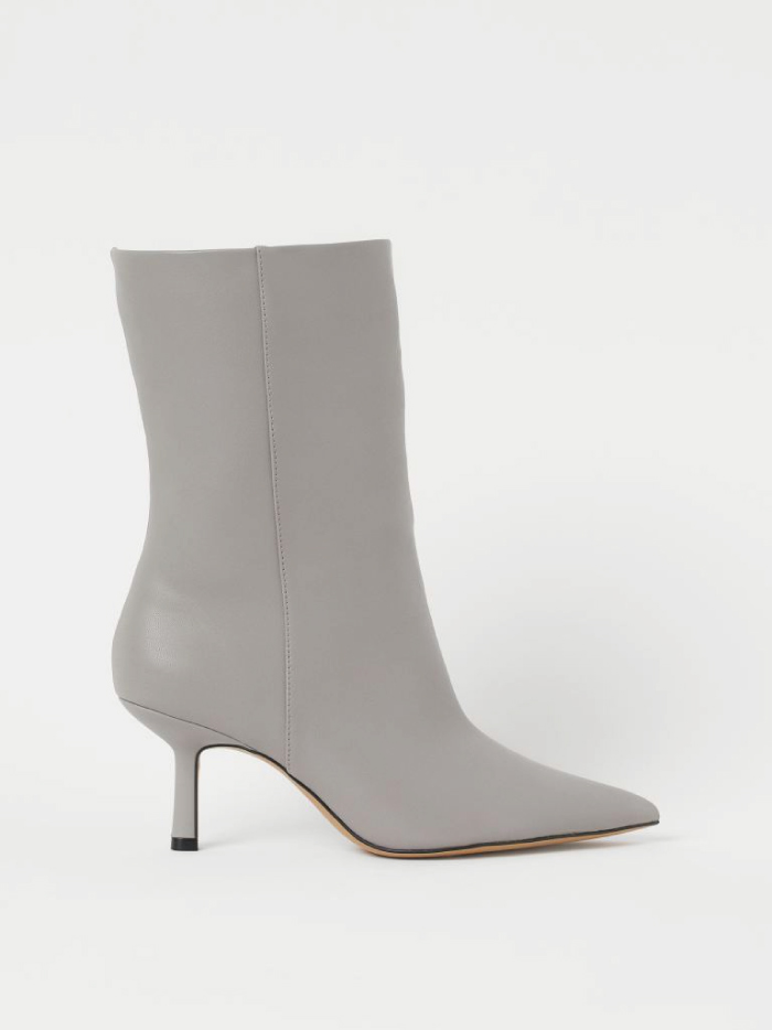The Boots Everyone Will Wear For The Next Months. Ankle Boots from H&M.