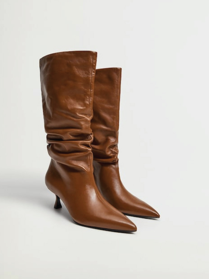The Boots Everyone Will Wear For The Next Months. 100% Leather Boots from Mango.