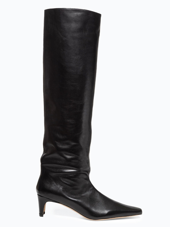 The Boots Everyone Will Wear For The Next Months. Wally Boot Black from Staud.