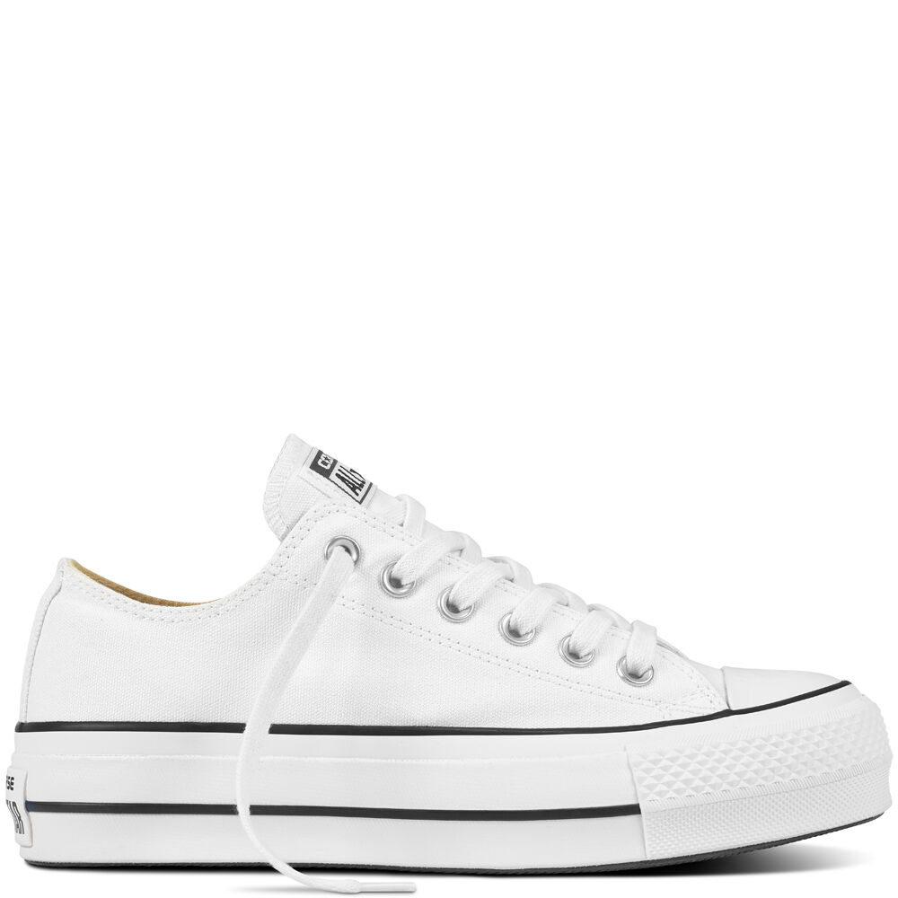 WHITE ALL STAR PLATFORM from CONVERSE