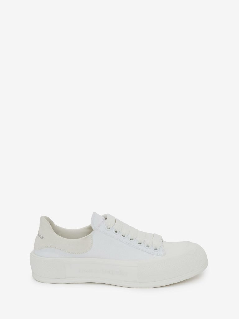 DECK LACE UP PLIMSOLL  from ALEXANDER MCQUEEN