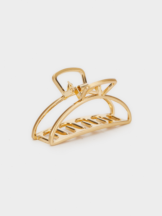 GOLDEN BASIC CLAW CLIP from PARFOIS