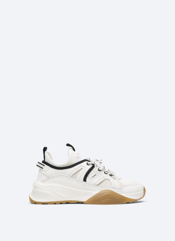 COMBINED LEATHER SNEAKER from UTERQUE