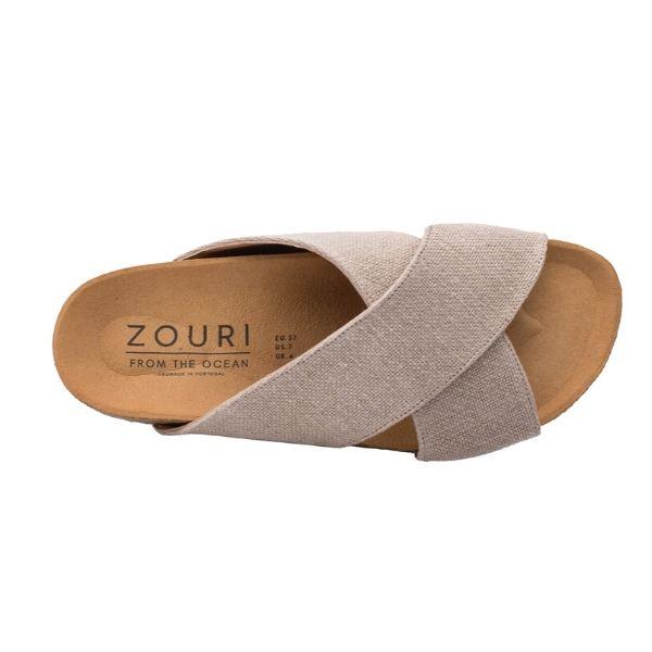 ZOURI LINEN SANDALS  from ZOURI