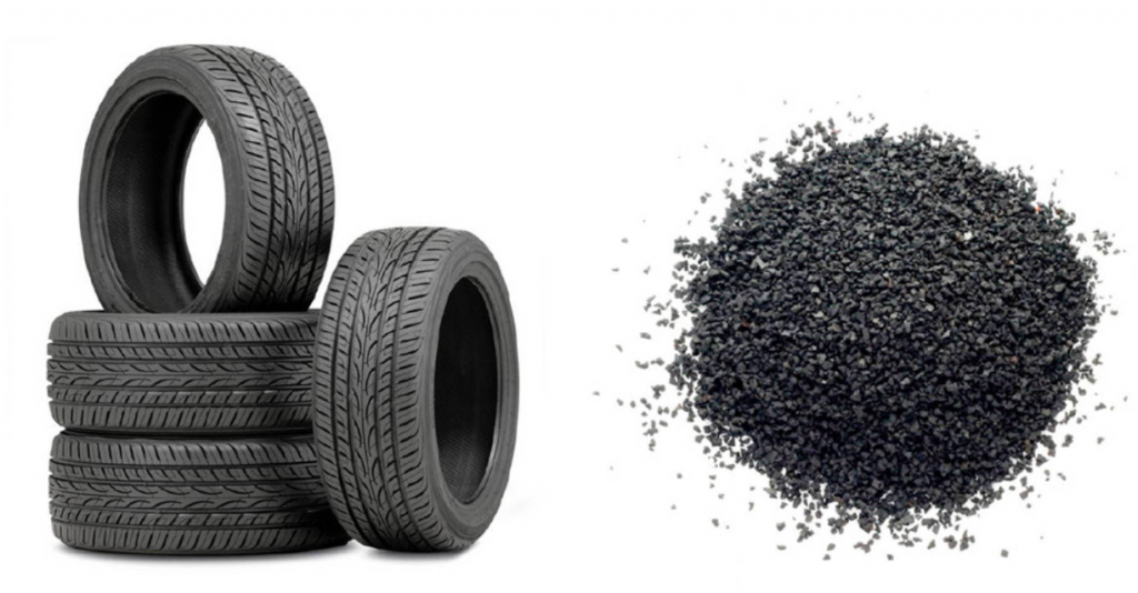 TIRES AND RECYCLED TIRES LEATHER ALTERNATIVES