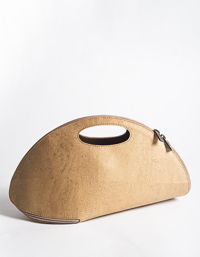 CORK SHELL GOLD BAG from Marita Moreno