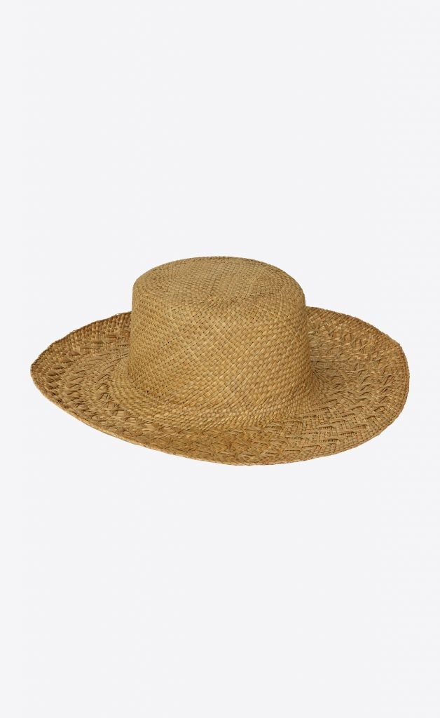 STRAW HONOLULU HAT from YVES SAINT LAURENT