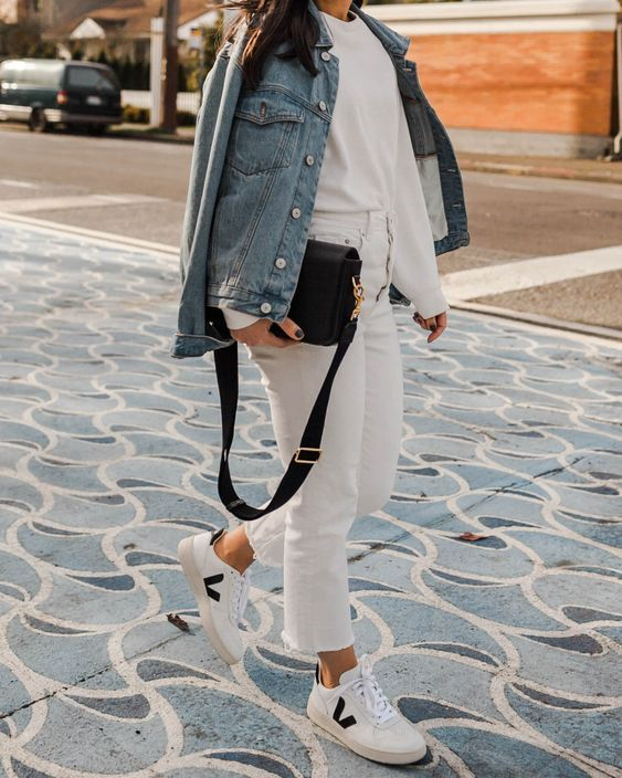 VEJA SNEAKERS OUTFITS from PINTEREST