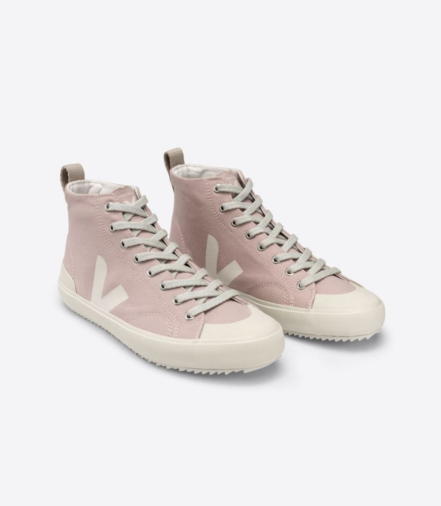 PINK AND WHITE VEGAN SNEAKERS  from VEJA