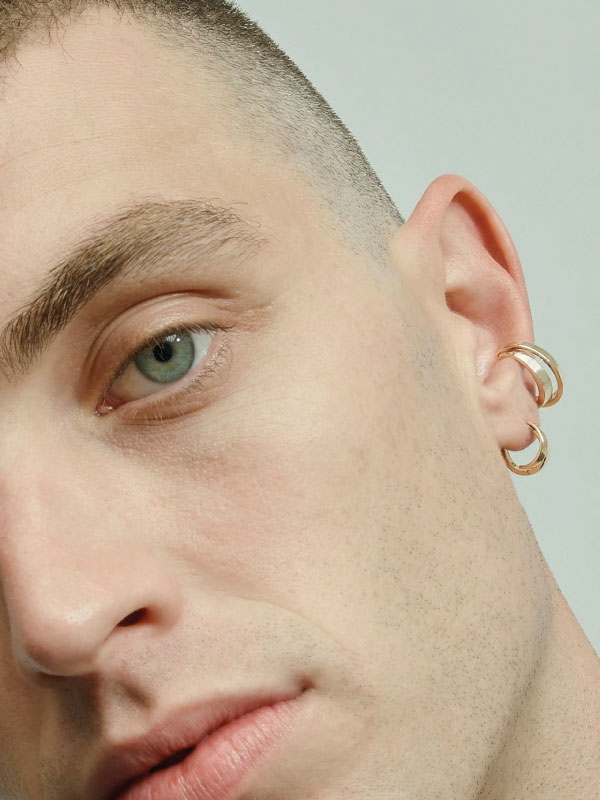 Sustainable Jewellery That Will Make Life Sparkle. Sarah & Sebastian, cast ear cuff.