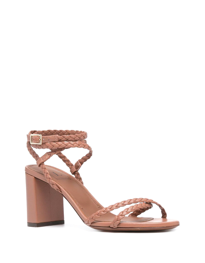 Summer Sandals To Stay Fresh And Stylish All Season: Braided Strap Sandals by L'Autre Chose.