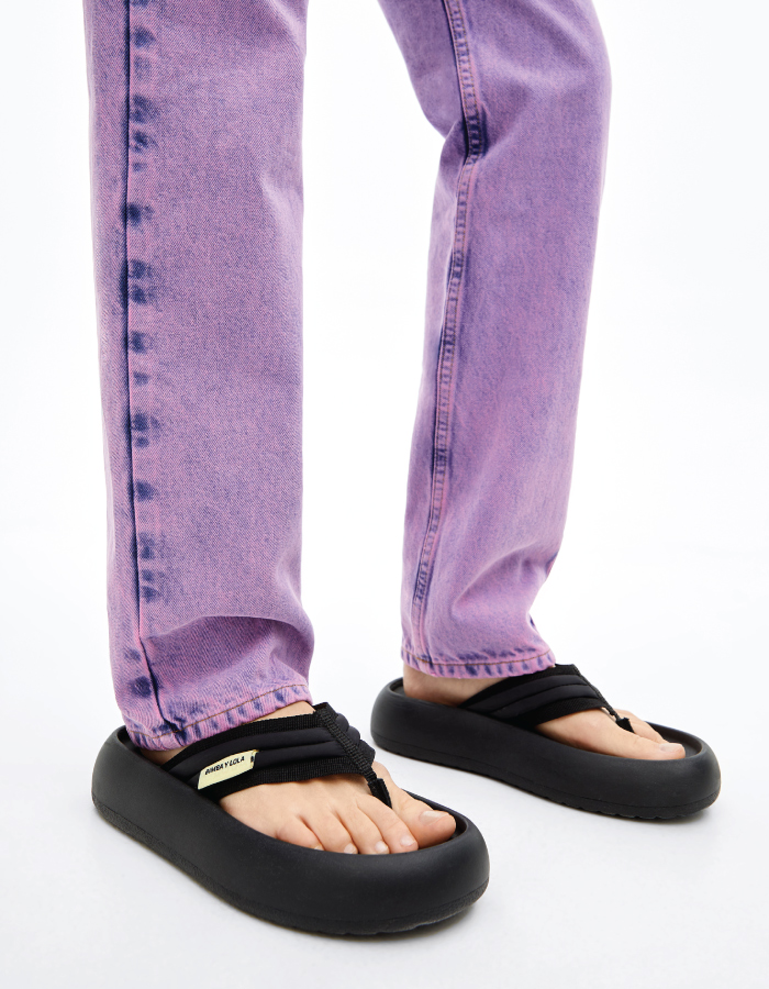 Summer Sandals To Stay Fresh And Stylish All Season: Platform Flip-Flops by Bimba y Lola.
