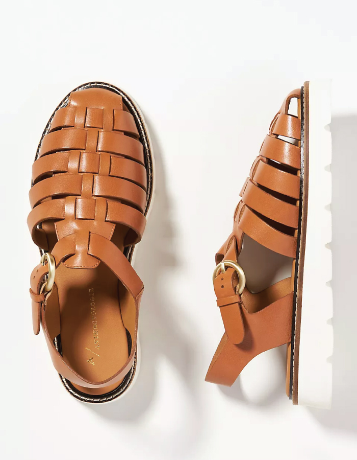 Summer Sandals To Stay Fresh And Stylish All Season: Fisherman Sport Sandals by Anthropologie.