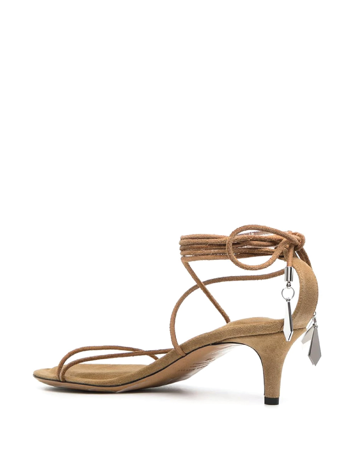 Summer Sandals To Stay Fresh And Stylish All Season: Amifa 50mm Wraparound Strappy Sandals by Isabel Marant.