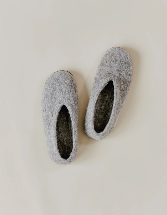 Our Top Selection To Stay In Wearing Sustainable Slippers. Slippers from Toast.