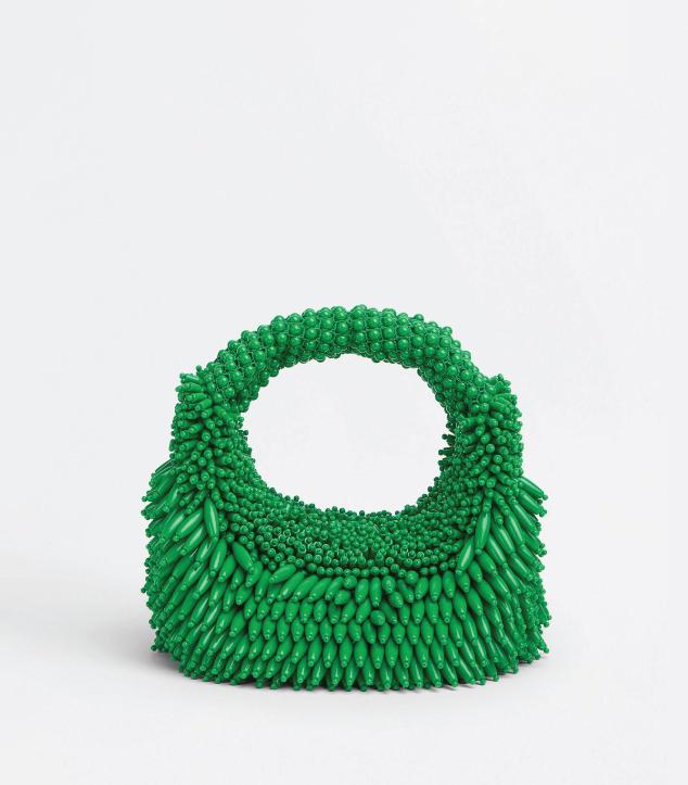 The Designer Bags Of 2021. Bottega Veneta Mini Jodie Bag Parakeet