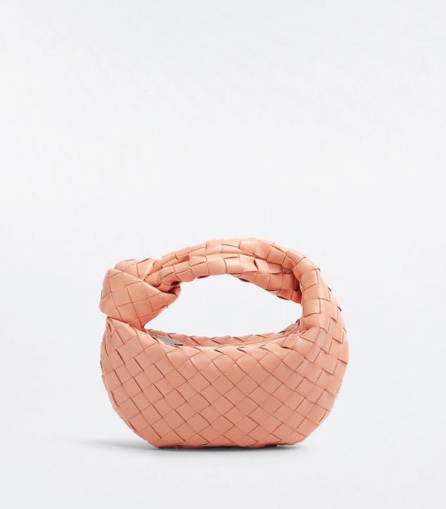 The Designer Bags Of 2021. Bottega Veneta Mini Jodie Bag Peachy