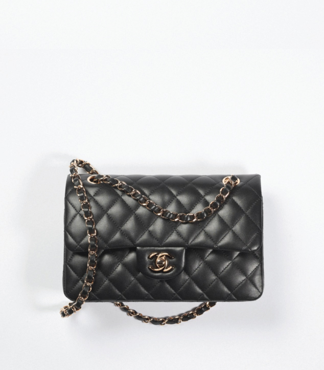 The Designer Bags Of 2021. Chanel Classic Flap Bag Black