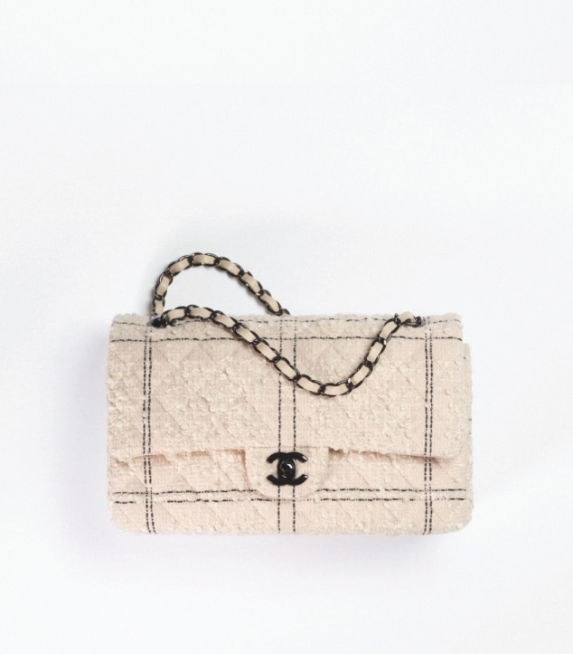 The Designer Bags Of 2021. Chanel Classic Flap Bag Tweed