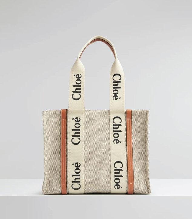 The Designer Bags Of 2021. Chloé Medium Woody Tote Bag