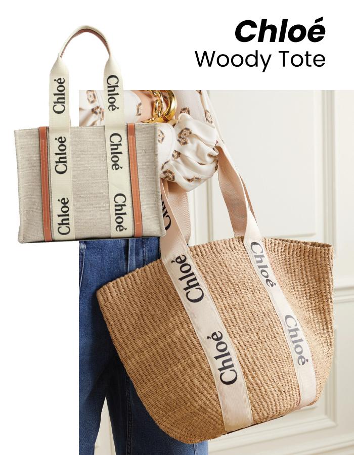 The Designer Bags Of 2021. Chloé Woody Tote