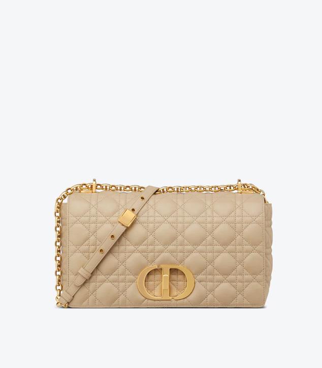 The Designer Bags Of 2021. Dior Large Caro Bag Beige
